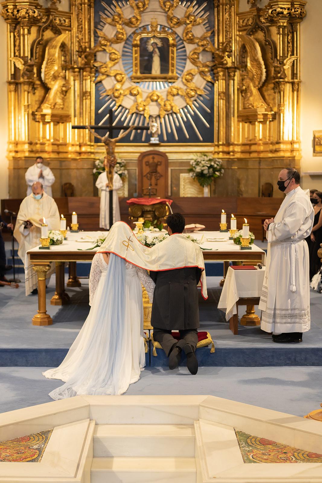 Fotos boda católica